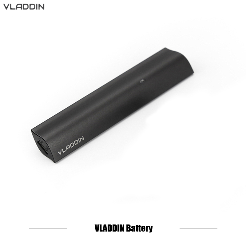Origianl Electronic Cigarettes Battery Vladdin Pen Battery 350mah USB chargeable For Vladdin Re full Pod Kit