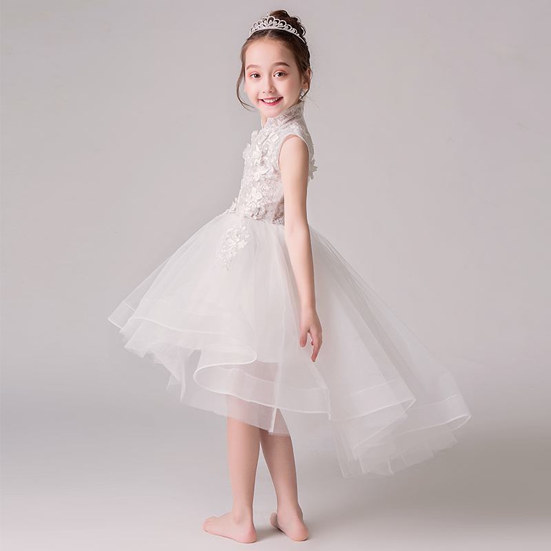 2018 winter girl floral princess party dress girls dress children clothing wedding birthday baby dress tutu y baby girl clothes baby girl clothes bowknot dress birthday wedding girl floral princess party dress summer tutu girl dresses children clothing