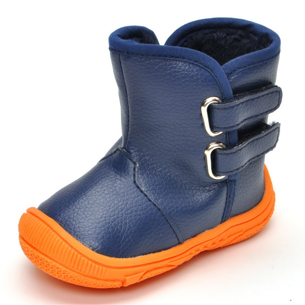 New Kids Girls Children Ankle Warm Comfy Winter Boots Stylish Fashion Shoes Size