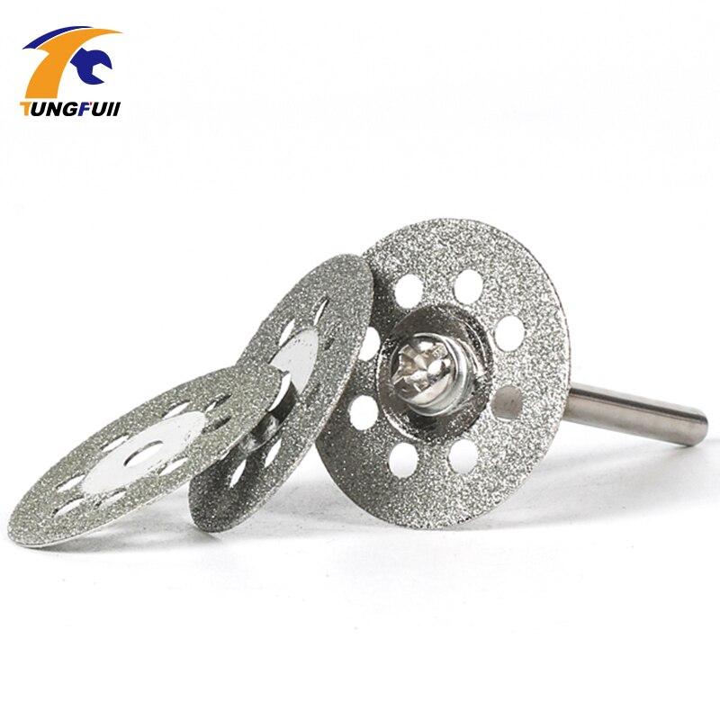 Tungfull Dremel Accessori 21 pezzi Lama per sega diamantata Set di - Accessori per elettroutensili - Fotografia 3