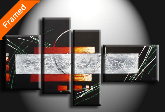 Fashion large canvas art cheap high quality abstract oil painting wall decoration pictures for friends gift