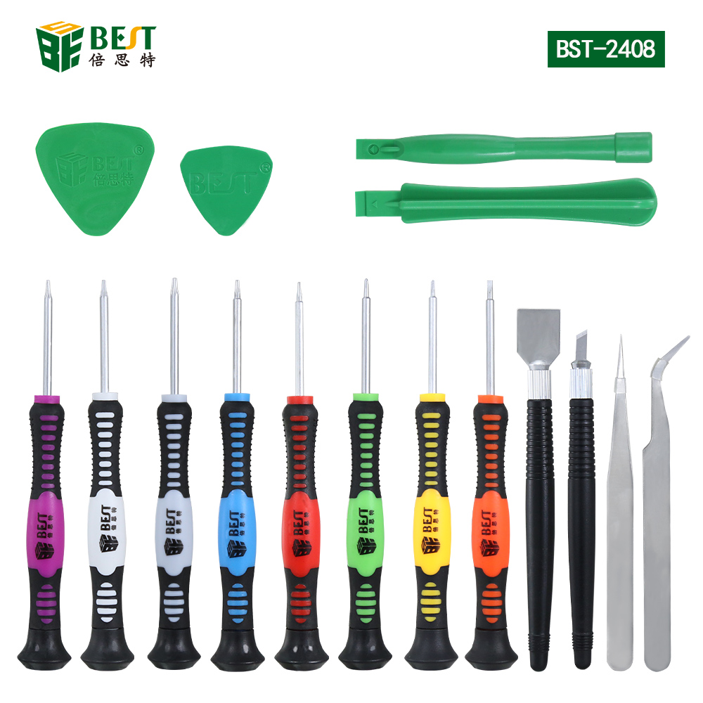 16 in 1 Opening Pry Tools Disassembly Repairing Tools Versatile Screwdriver Set for iPhone HTC Samsung smartphone