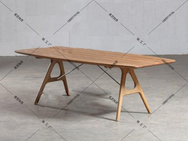 Houten Tafel Ikea : Nordic loft houten tafels ikea werktafels bureau computer bureau
