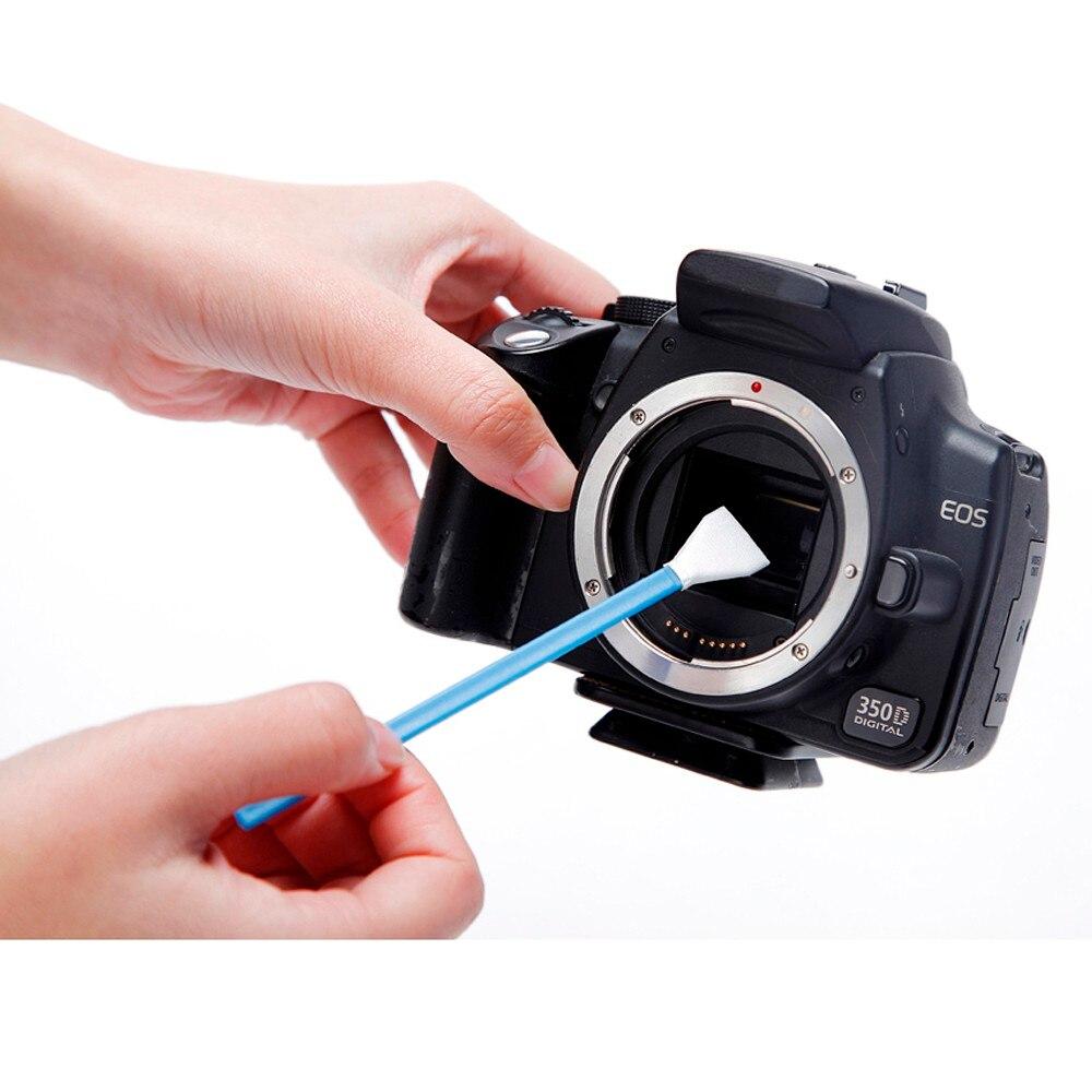 מקצועי VSGO APS-C חיישן מסגרת ספוגית ניקוי ערכת 10pcs Pack עבור מצלמת DSLR חיישן עדשה הטלפון מסך ומקלדת משקפיים.