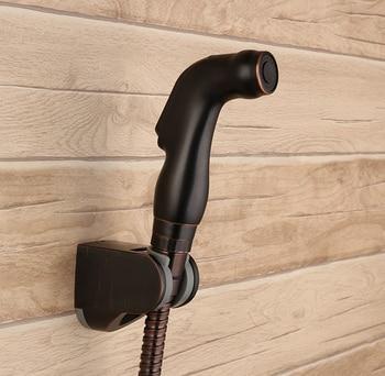 Oil Rubbed Bronze ABS Handheld bidet Diaper Sprayer Shower Set Shattaf Bidet Sprayer Douche kit+G1/2 T-adapter+hose+holder-7790