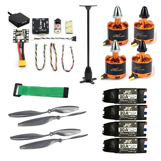 JMT Kits Radiolink Mini PIX M8N GPS Flight Control 920KV Brushless Motor 30A ESC 10x4.5 Propeller for 4-axis RC Drone Airplane f02015 g 6 axis foldable rack rc quadcopter kit apm2 8 flight control board gps 1000kv brushless motor 10x4 7 propeller 30a esc