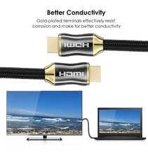 100pcs/lot 3m 10ft HDMI Cable HDMI to HDMI cable HDMI 2.0 60FPS Cable for HD TV LCD Laptop PS3 Projector Computer Cable