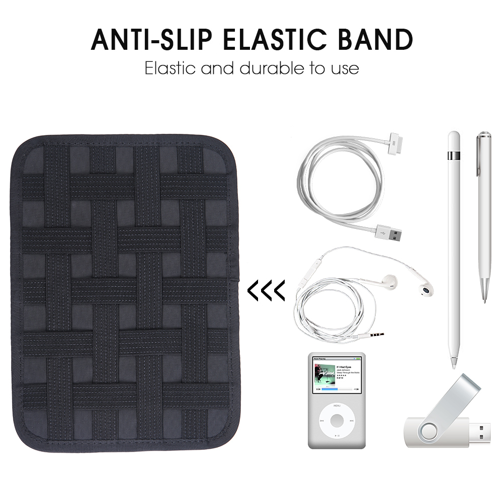 "Купить с кэшбэком Smstree Hard&Soft Electronics Accessories Bag Compatible for 7.9"" iPad Mini 4 / Kindle/Fire HD Tablet 7"" Protective"