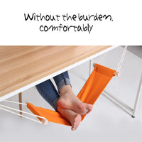 8 Color FUUT Mini Office Foot Hammock Leisure Home Furniture Desk Hamac Chair Feet Tool Outdoor