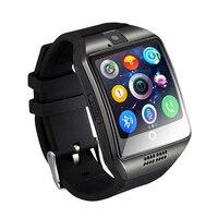 Smart Watch Q18 Digital Wrist With Men Bluetooth Electronics SIM Card Sport Smartwatch Camera For IPhone