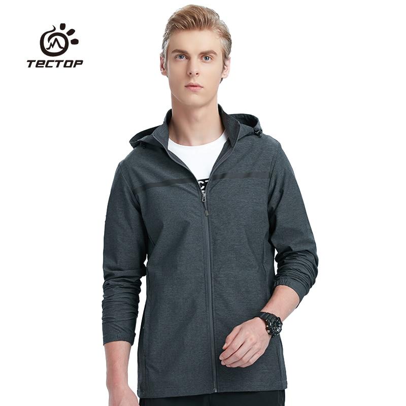Spring Men hiking jacket ultralight Elastic Windbreaker mens coat