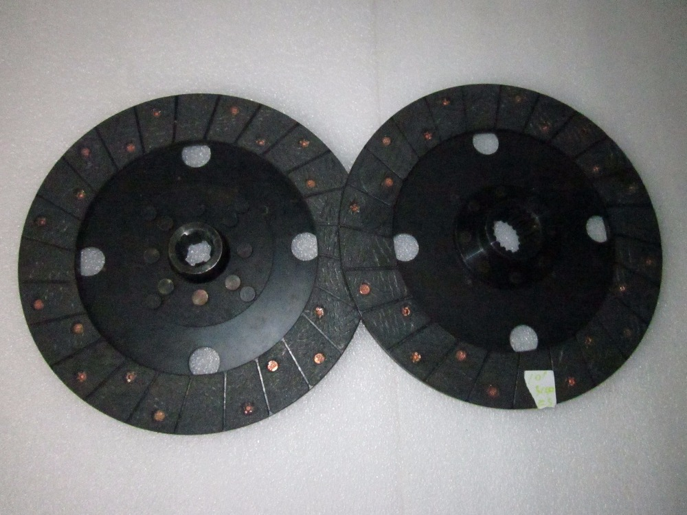 JINMA 304-354 tractor parts, the set of clutch plates (main and auxiliary) for dual stages,part number: 304.21S.015/34.21S.013 changchai zn490t for tractor use the set of piston group part number