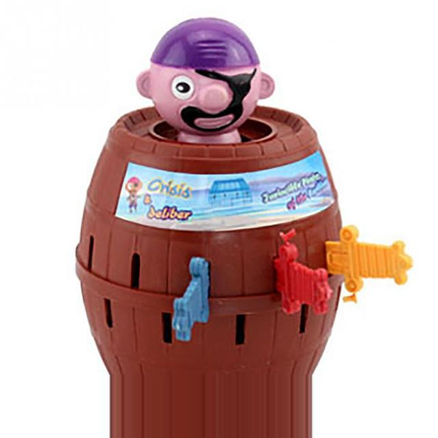 Kids Funny Gadget Pirate Barrel Game Toys for Children Lucky Stab Pop Up Toy 4