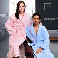 Cotton Female Bathrobe Women Thick Sleepwear Autumn Winter Bathrobe Long Home Wear Women White Robe Warm Soft Terry Fleece Robe