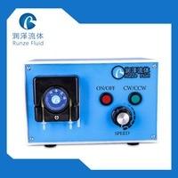 4 Roller POM Small Pulse Peristaltic Pump 110 v 240 v Small Flow Chemicals Dosing