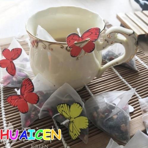 1000pcs lot Empty Nylon Tea Bag With String Heat Seal Filter Paper Herb Loose Tea Bags