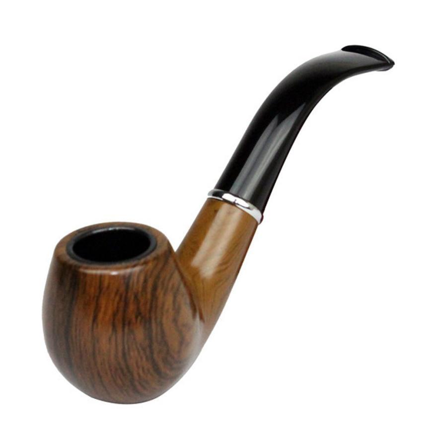 Pipe Retro Vintage Resin Enchase Smoking Pipe Tobacco ...