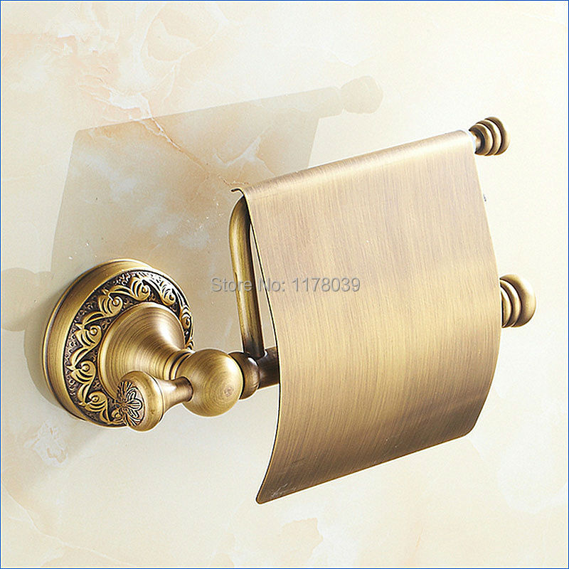 Rubbed Bronze Toilet Paper Holdereuropean Style Toilet Roll Paper