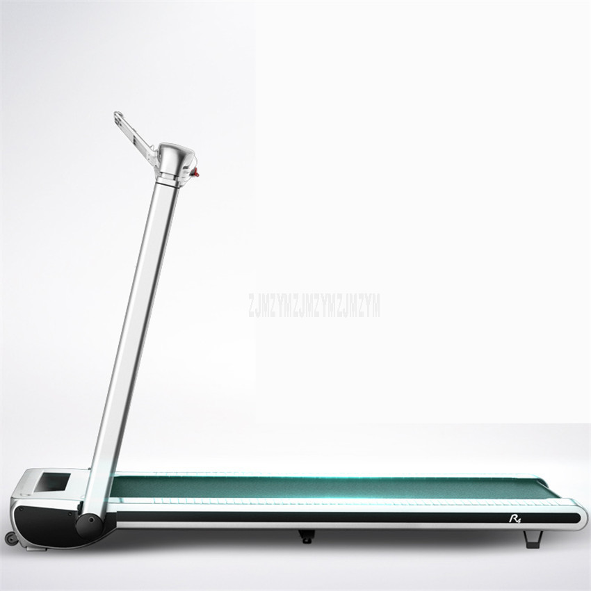 R4 600w Household Foldable Mini Treadmill With Anion Funtion Ultra-silent Running Fitness Training Equipment Load Weight 120kg