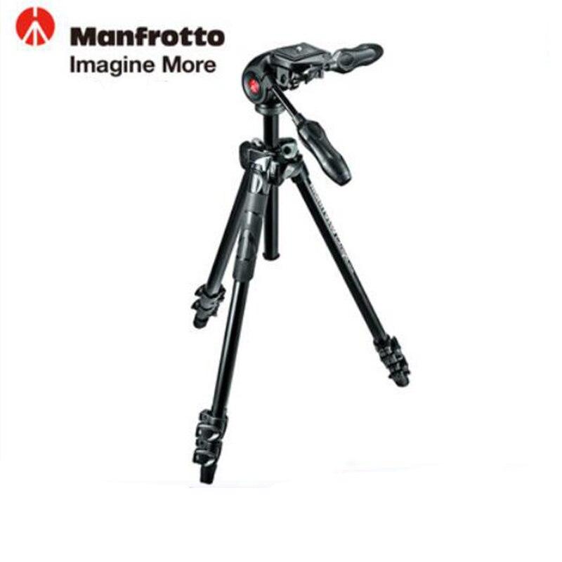 Manfrotto MK290LTA3-3W Aluminium Stativ Kit Professionelle Stativ Mit Faltbare Kugelkopf Achse Rück Für Marke Digitalkamera