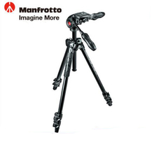 Manfrotto MK290LTA3 3W Aluminum Tripod Kit Professional Tripod With Foldable Ball Head Axis Reversing For Brand