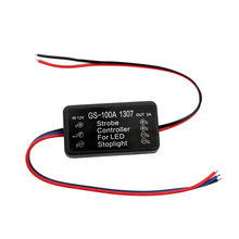 Universal Strobe Controller Brake Light Flasher Module Flashing Back Rear Brake Light 9-30V LED Flash Tail Stop Accessories