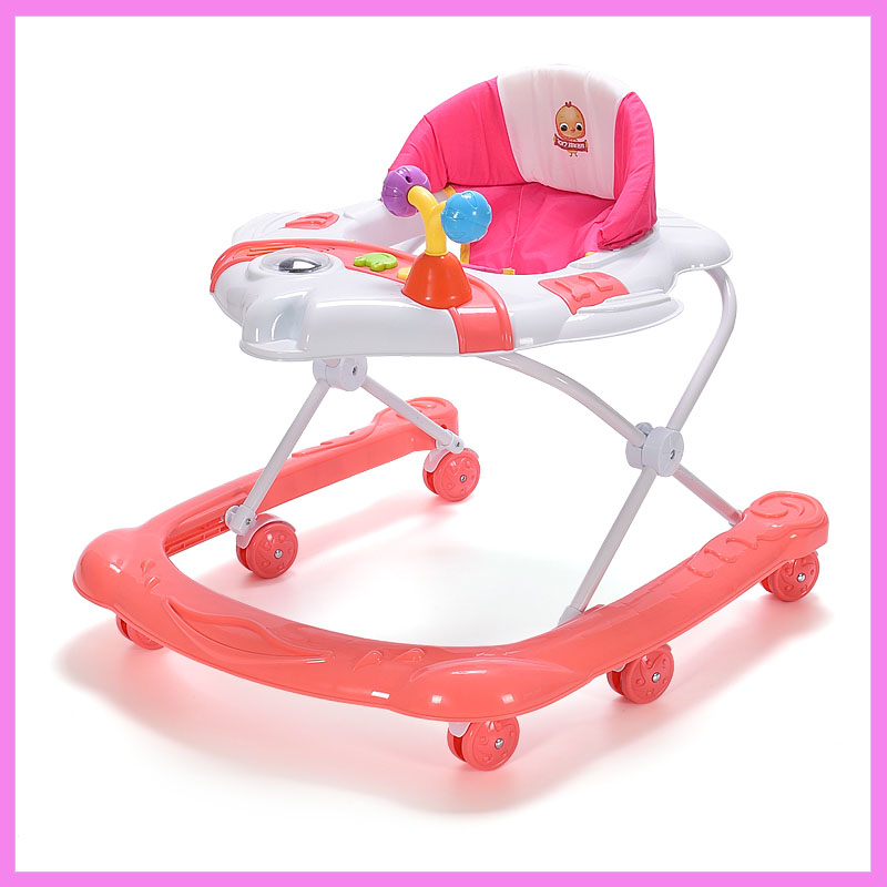 Baby Walker Car Function Children Baby Walker with Wheel Learning Walking Assistant Children Activity Adjustable Baby Walkers new hot sale baby toddler trolley sit to stand walker baby learning walking assistant infant safety baby walkers first steps car