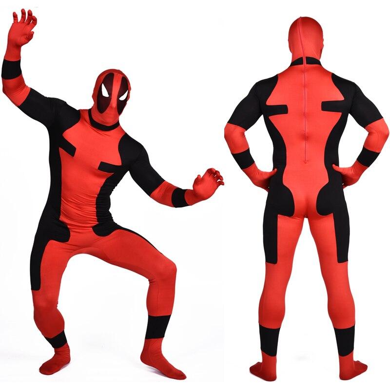 っX-men traje adulto deadpool traje niños Superhero Cosplay traje ...