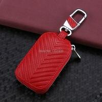 Car Key Wallet Case Genuine Leather For Mercedes Benz SLC SL GLS GLA GLE GLC S600