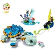 Лепин Legoing 41191 230 шт. эльфы серии Наида и Вода Черепаха засада Модель Building Block кирпич игрушки для дети 30015