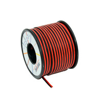 18 AWG Silicone Electrical Wire 20M 2pin Extension Cable Wire Cord Cables Flexible Hook UP Strands Tinned Copper Axis Wire