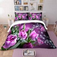 a116163b59 Bed Linen Set With Bedding Set Twin Full Queen King UK Double Size 3D  Butterfly Duvet. Roupa De cama Conjunto ...