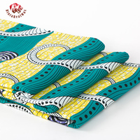 2017 New Coming African Java Wax Fabric 100 Cotton Fashion Style Real Wax Prints Fabric For