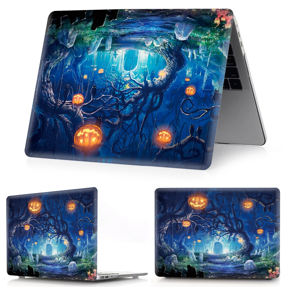 Image 3 - color printing Halloween notebook case for Macbook Air 11 13 Pro Retina 12 13 15 inch Colors Touch BarNew Pro 13 15 New Air 13-in Laptop Bags & Cases from Computer & Office