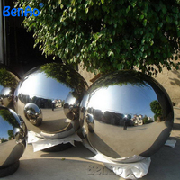 AO184 Free shipping 2.0 m diameter PVC inflatable ball inflatable crystal mirror mirror ball inflatable balloon hot sale