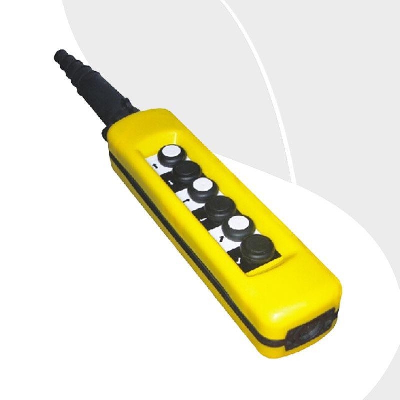 Free Shipping XAC-A671 6 button Single Speed crane derrick Motor control button control