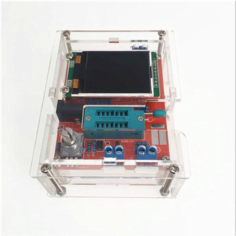 цена на GM328 transistor tester frequency measurement instrument PWM square wave voltage meter LCR full color graphics
