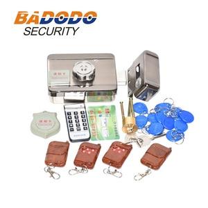 Электронный Определитель частоты радиосигнала блокировка ворот/умный электрический ударный замок магнитный индукционный контроль доступ...