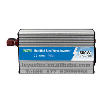 LEYU 600 watt 1200 watt power inverter DC 12 v zu AC 220 v 230 v modifizierte sinus welle image