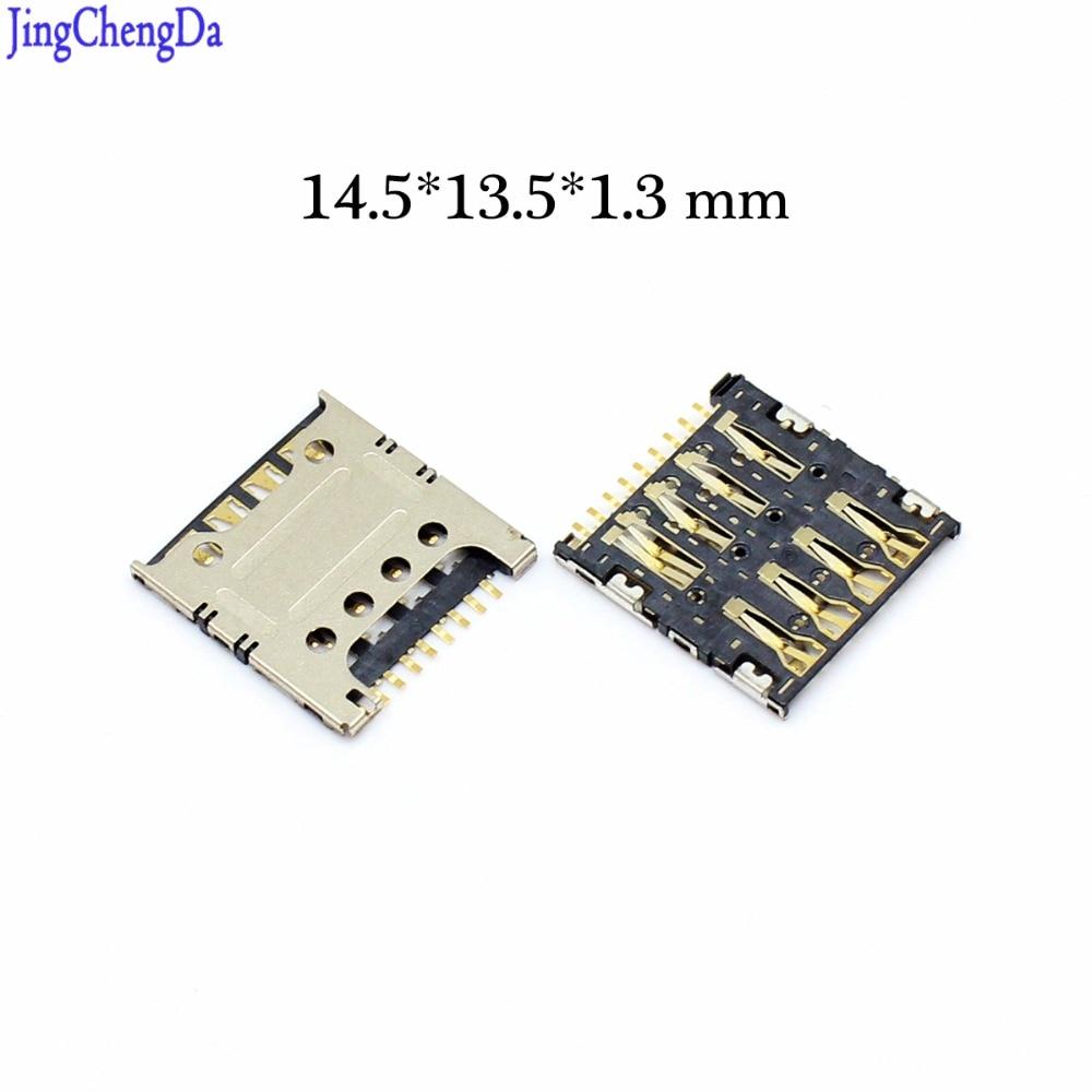 Jing Cheng Da New mini Sim Card Slot Tray Holder Socket Reader Repair Part For LG G3 S G3 Beat D722 D728 D725 D724 D722K G3
