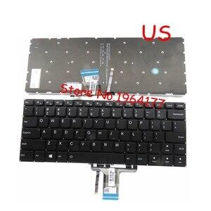 Nuevo para Lenovo yoga 510-14 510-14AST 510-14IKB 510-14ISK teclado US negro con retroiluminación