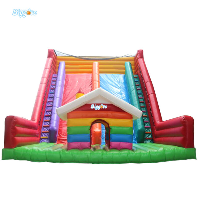 Sea Shipping Commercial Bouncy Castle Dry Slides Juegos Inflables