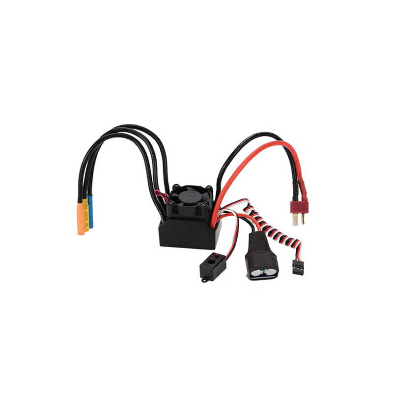 3650 3900KV 4P Sensorless Brushless Motor & 60A Brushless Splash-Proof Electronic Speed Controller ESC with 5.8V/3A Switch Mode 3650 3900kv 4p sensorless brushless motor 60a brushless elec speed controller esc w 5 8v 3a switch mode bec for 1 10 rc car