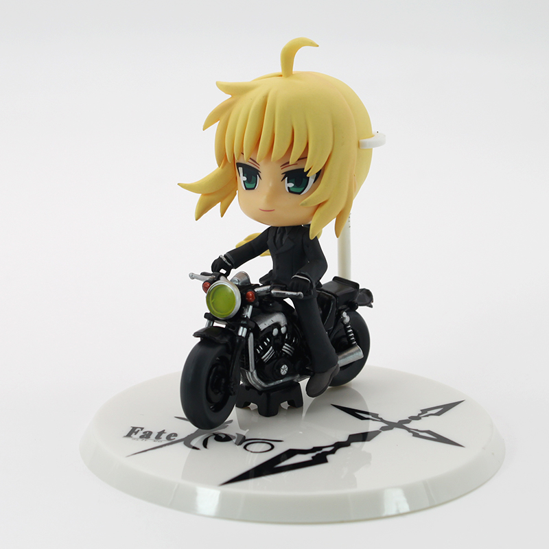 Anime Fate  Fate Stay Night Action Figures Saber Lily Motored  figures PVC Model for collection toy плюшевые аниме подушки игрушки poly moe fate stay night saber 2way bz1105