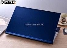 Intel Core i7 CPU Laptop 15inch 1920X1080P FHD Wifi DVD-RW Bluetooth Notebook Computer 8GB RAM+240GB SSD Windows 7 System