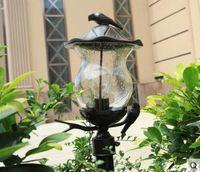 Outdoor waterproof lawn lamp European pastoral style rainproof garden led light garden villa outdoor column headlight