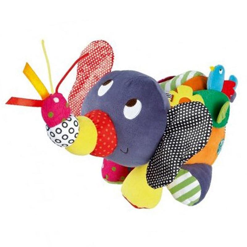 42X30X26CM Elephant Baby Leksaker Mamas Papas Barnvagn Baby Rattles - Leksaker för spädbarn