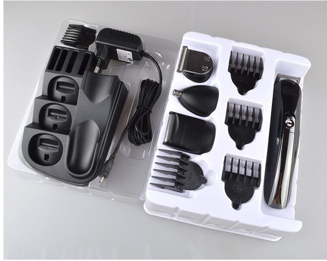 8 in 1 Electric nose Hair Clipper rechagerable Trimmer Razor all in one man grooming kit nose hair cutter mustache shave