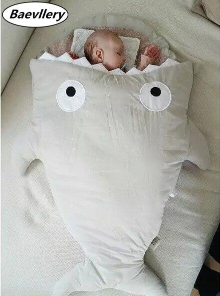Promotion Shark New Born Baby Infant Shark Sleep Bag Warm