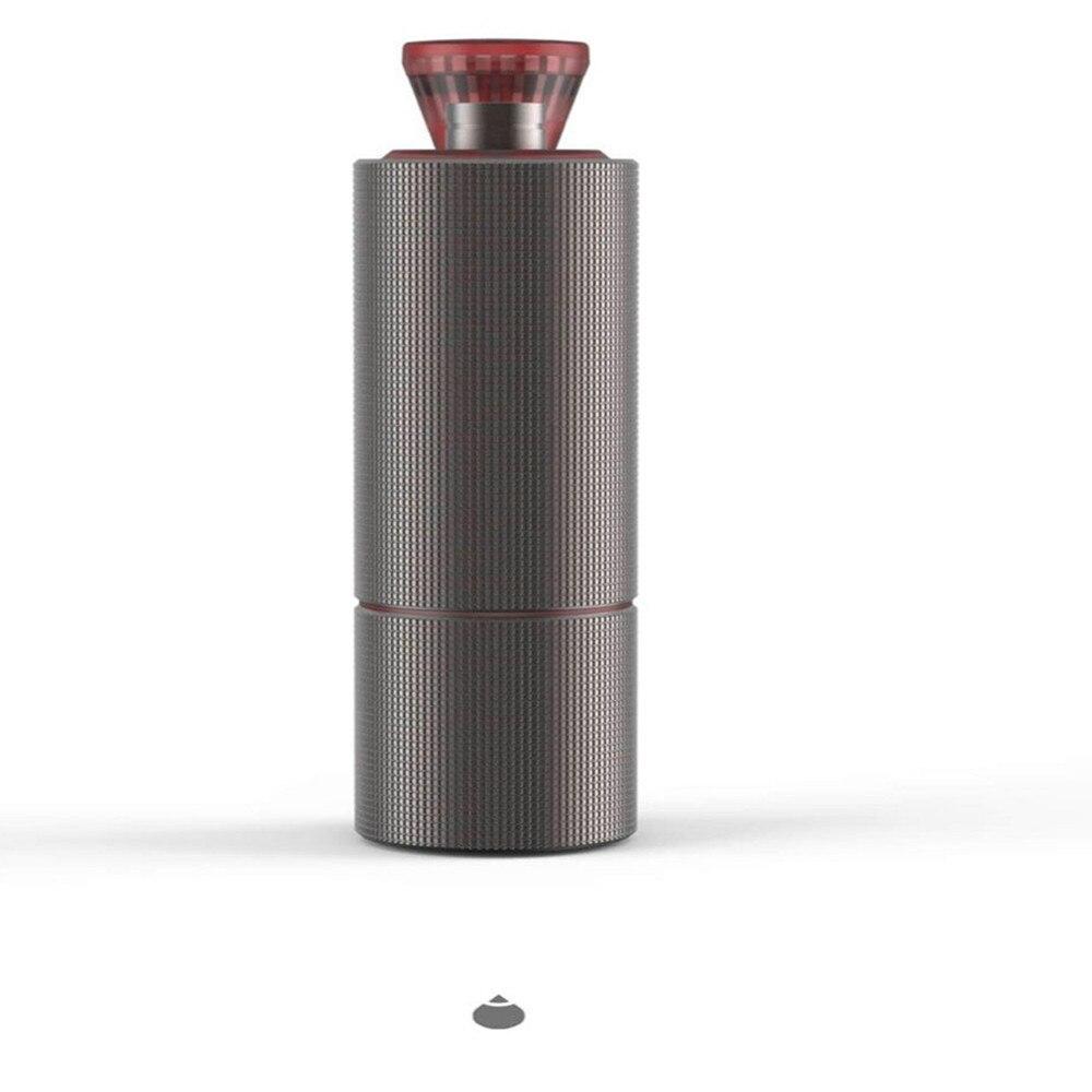 New super light 1pc portable manual coffee grinder steel burr High quality handle design super manual